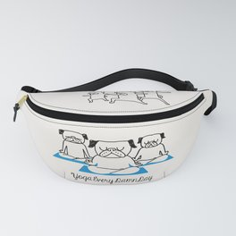 Yoga Every Damn Day Fanny Pack
