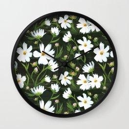 Versailles Flowers Wall Clock