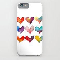 color of hearts Slim Case iPhone 6s