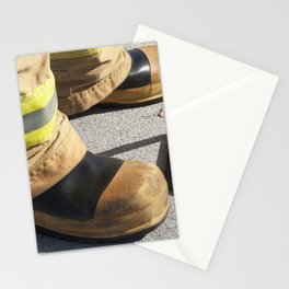 Boots on Roof Stationery Cards