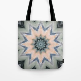 Beautiful Sage and Apricot by LH Tote Bag