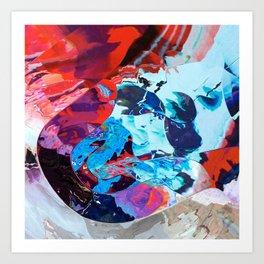 Divine teardrop Art Print
