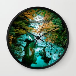 Kazura Bashi Bridge Wall Clock