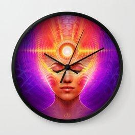 Mind Molecular Congruence Wall Clock