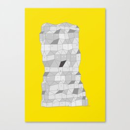 Neighborhood Print Canvas Print