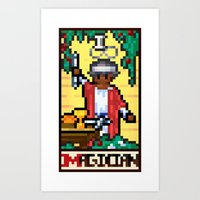 Arcade Arcanum - The Magician Art Print