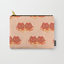 Cat Food - Meatball Carry-All Pouch