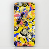 fight iPhone & iPod Skins featuring Fight by Larionov Aleksey