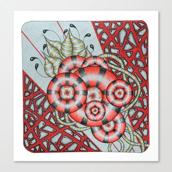 Nanobot Valentine Canvas Print