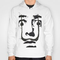 inspirational Hoodies featuring I am drugs ( Salvador Dali ) by Black Neon