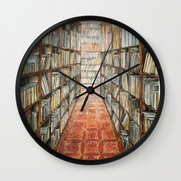 old library Wall Clock