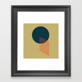 Orbit 2 Framed Art Print