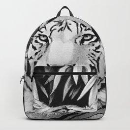 Endangered White Tiger Backpack