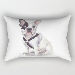 Humphrey the French Bulldog Rectangular Pillow