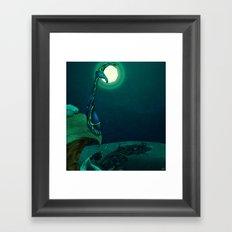 Boulder Holder Framed Art Print
