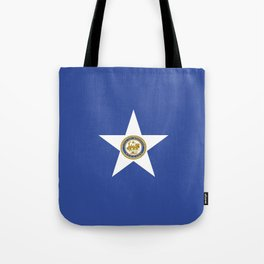 American cities-  Flag of Houston. Tote Bag