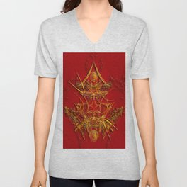 Chinese Art Unisex V-Neck