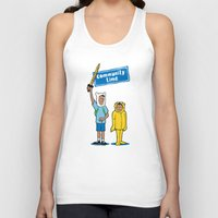 community Tank Tops featuring Community Time! by powerpig