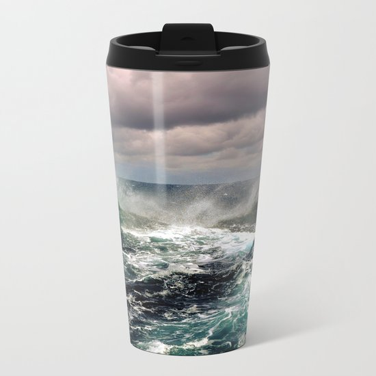 Waves XCI Metal Travel Mug