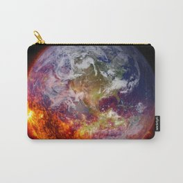 Global Warming Climate Change Carry-All Pouch