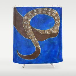 Creature of Water (the tentacle) Shower Curtain