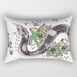Hissssss Rectangular Pillow