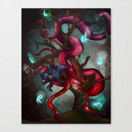 Soul eater Tree Canvas Print