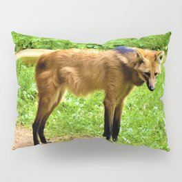 Furry Fox Pillow Sham