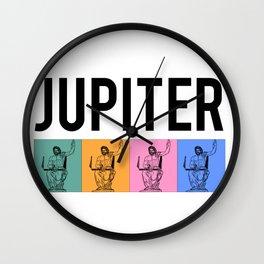 Jupiter, Roman Mythology Wall Clock