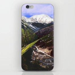 ASPEN DIAMONDS iPhone Skin