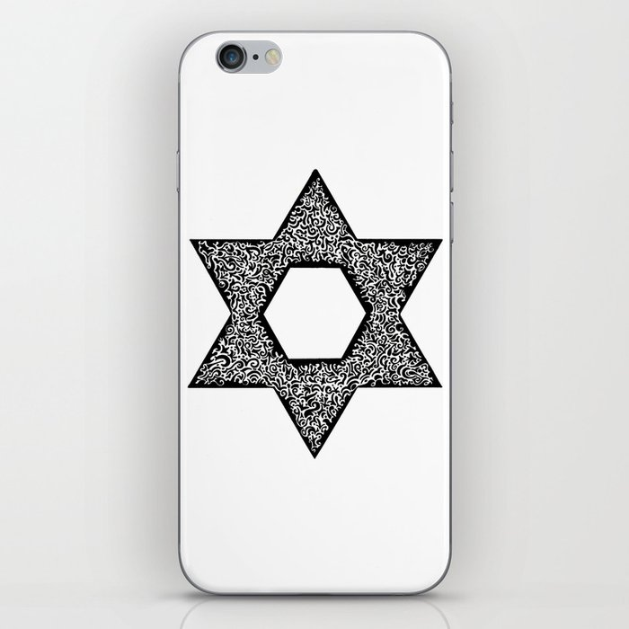 Star of David (Jewish star) iPhone Skin