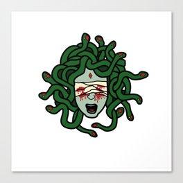 Blind Medusa Canvas Print