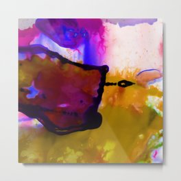 Abstract Bliss 4C by Kathy Morton Stanion Metal Print