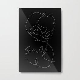 Dark Mirror Metal Print