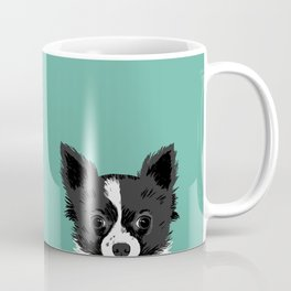 Pippen & Sooty - Teal Coffee Mug