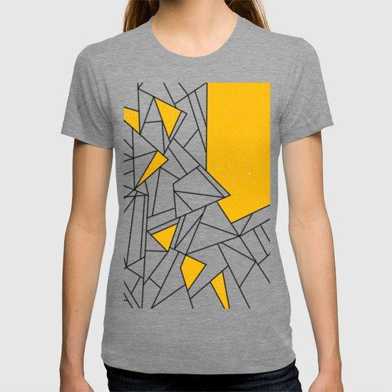 Black and Yellow geometric pattern by textart