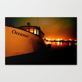 Oceanus Sunset Canvas Print