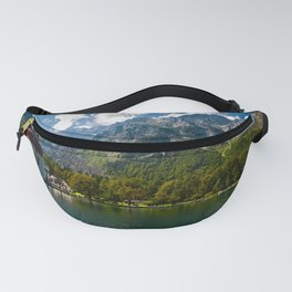 Outdoors, Church, Alps Mountains, Koenigssee Lake Fanny Pack