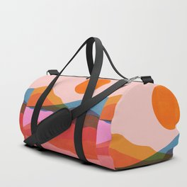 Abstraction_OCEAN_Beach_Minimalism_001 Duffle Bag