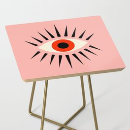 Red Eye Side Table