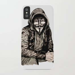 Anonymous Gangster iPhone Case