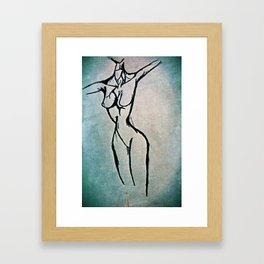 Open Arms Framed Art Print