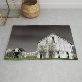 The Barn and Shed - Inverted Art Rug
