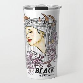 Black Eyes Japan Travel Mug