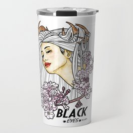 Black Eyes Japan Travel Mug