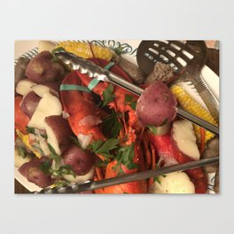 New England Lobster Canvas Print