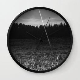 Alien Abduction Wall Clock