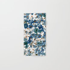 Georgia Floral Blue Hand & Bath Towel