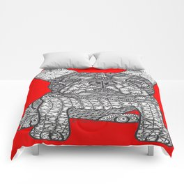 For the Love 1 - French Bulldog Comforters