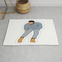 Drake Dancing Hip Hop Rug